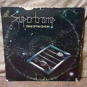 """Supertramp """"Crime Of The Century"""" Vinyl LP Album"""